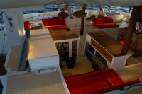 48ft Flybridge Motorsegler-Katamaran