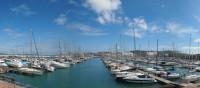 Yachthafen an der adriatischen Küste