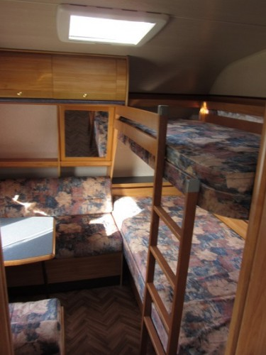 wohnwagen wilk 560 kinderzimmer etagenbett | marktplatz freizeit |