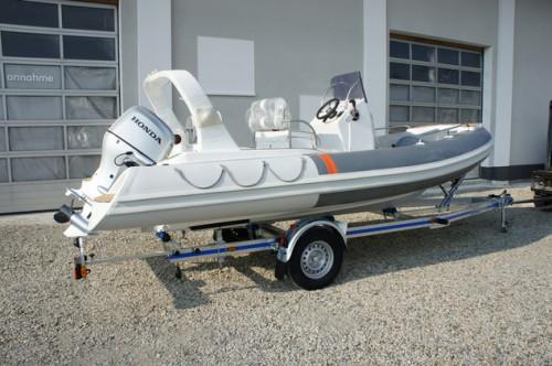 rib schlauchboot piranha 5 20 mit honda bf 100. Black Bedroom Furniture Sets. Home Design Ideas
