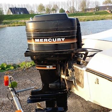 sportboot mit 50 ps mercury marktplatz freizeit. Black Bedroom Furniture Sets. Home Design Ideas