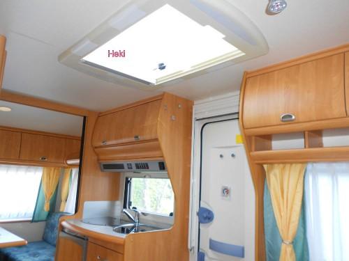 wohnwagen hobby esay excellent 450 ub. Black Bedroom Furniture Sets. Home Design Ideas