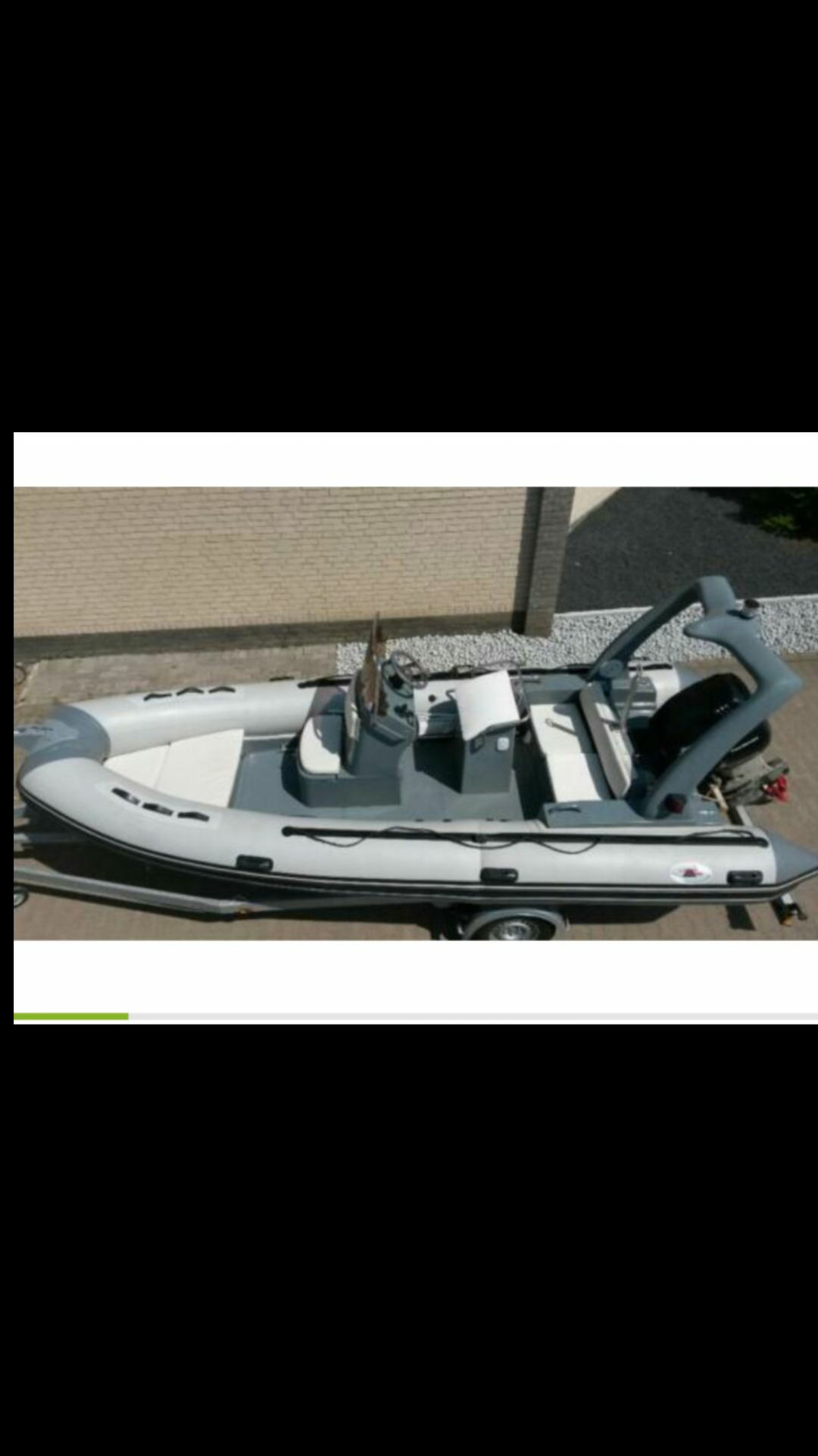 Schlauchboot mit Festrumpf Lava Marine 570 LX